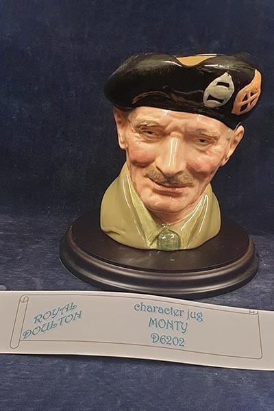 Doulton character jug .. D6202. Monty Lot 14