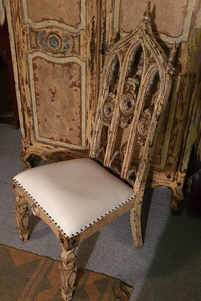 Gothic chair set of 8
