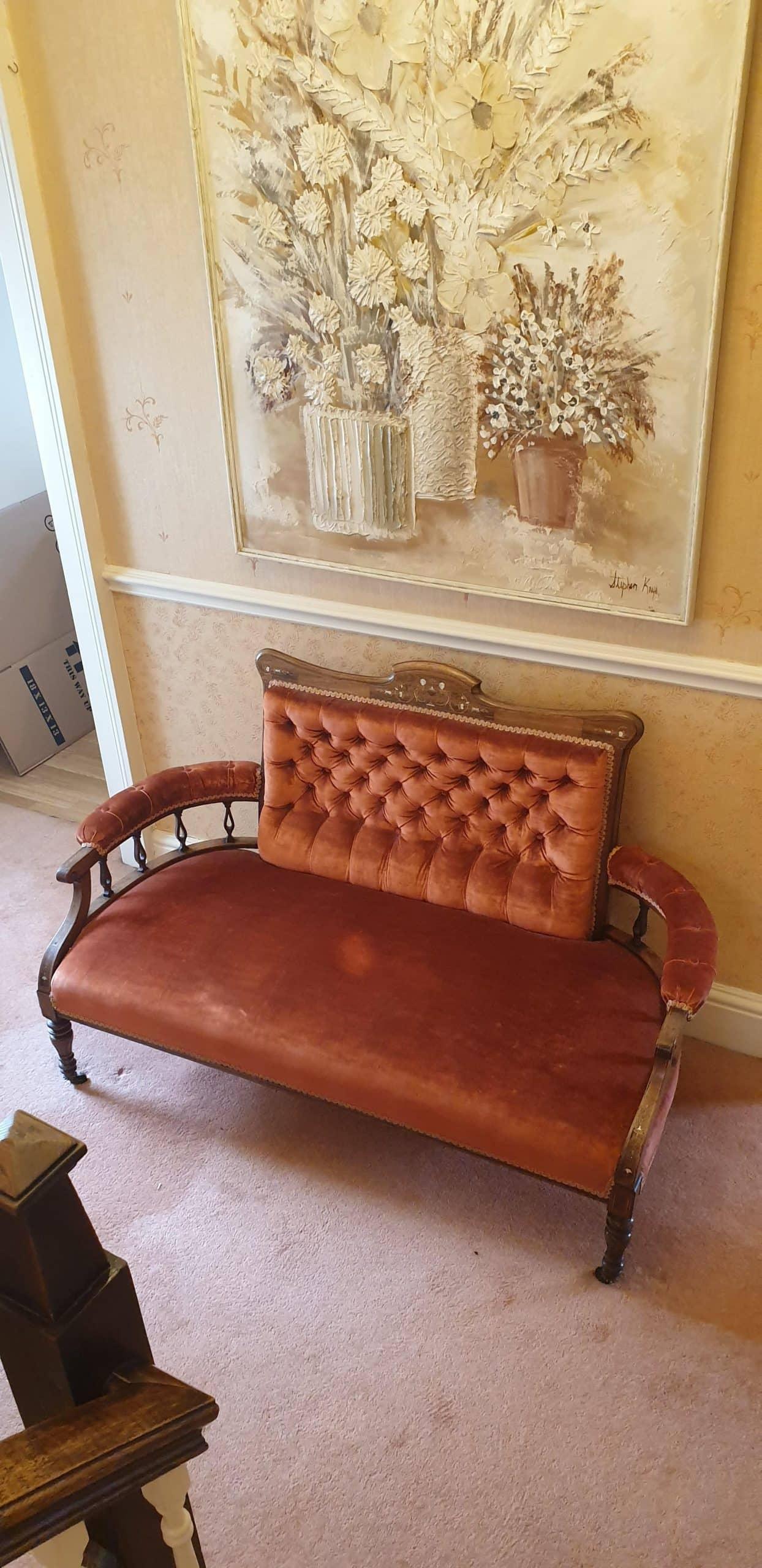 Victorian 7 piece parlour suite
